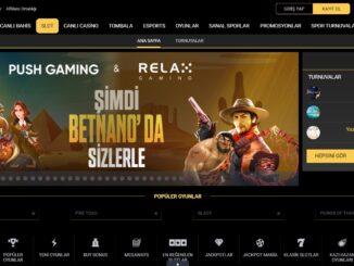 Betnano Canlı Casino Oyun Çeşitliliği